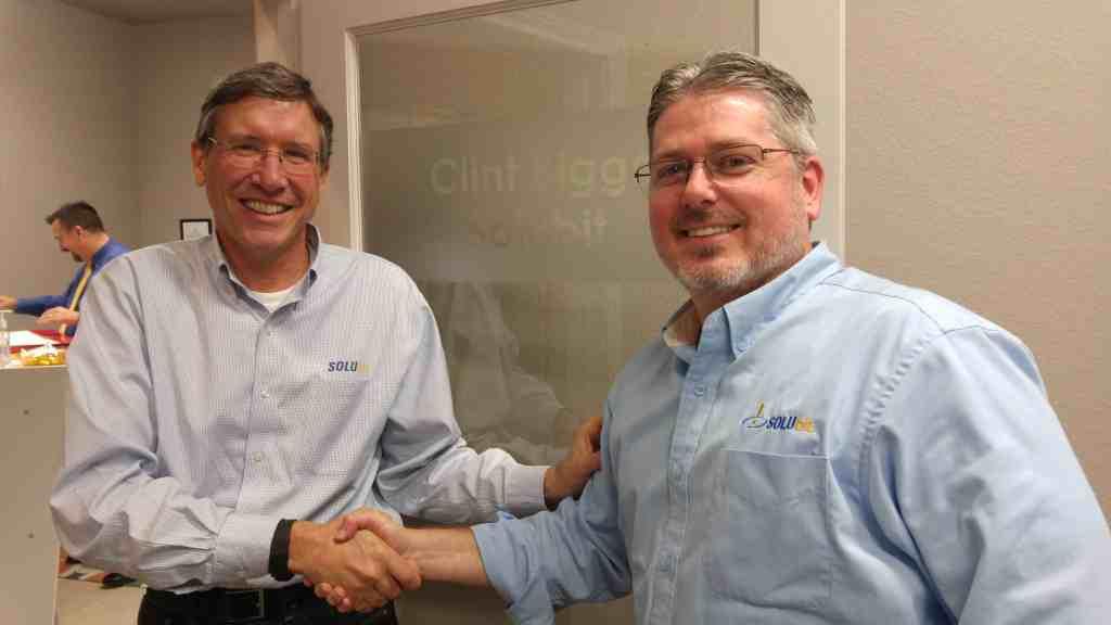 Bill Raskob and Clint Biggs