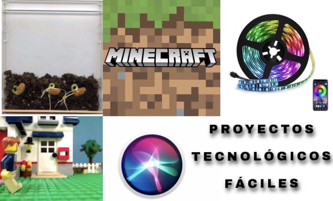 10 proyectos tecnológicos y fáciles que puedes realizar en casa
