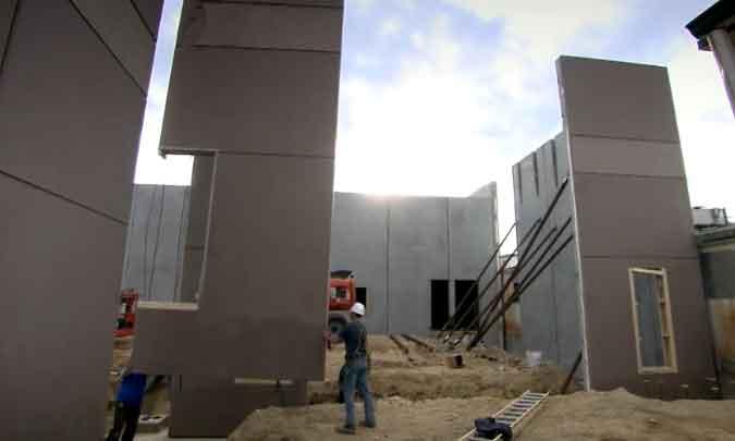 Cara Membuat Dinding Beton