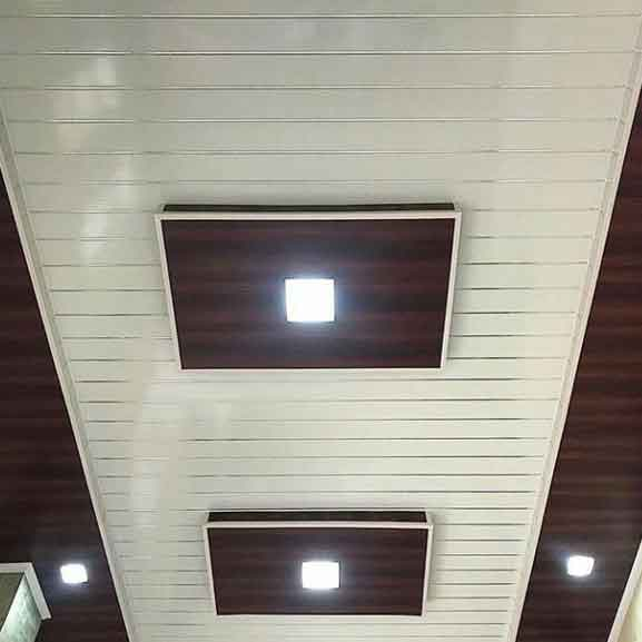 Harga Plafon Pvc Terpasang Per M2 Lembar Shunda Kangbang 2020