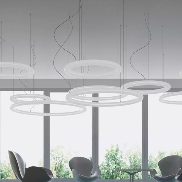 #slide #design #sodesign #solutiondesign #solutiondesignfr #france #slidedesign #luminaire #lumineux #giotto #suspension #event #interieur #led