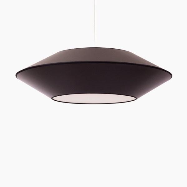 Détails techniques Couleurs : noir Dimensions produits : L.P.H : 76 x 76 x 20 cm Nombre de produits : 1 Ampoule E27 MAX 60W non incluse Référence Noir : SUSP.OVNI1.ALZ520/GLD