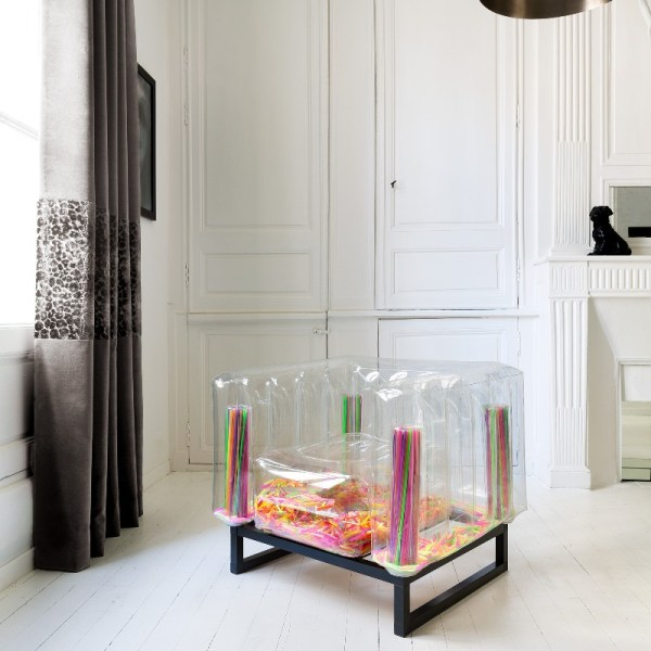 Revendeur de Mojow solution design fr mobilier assises fauteuil yomi transparent