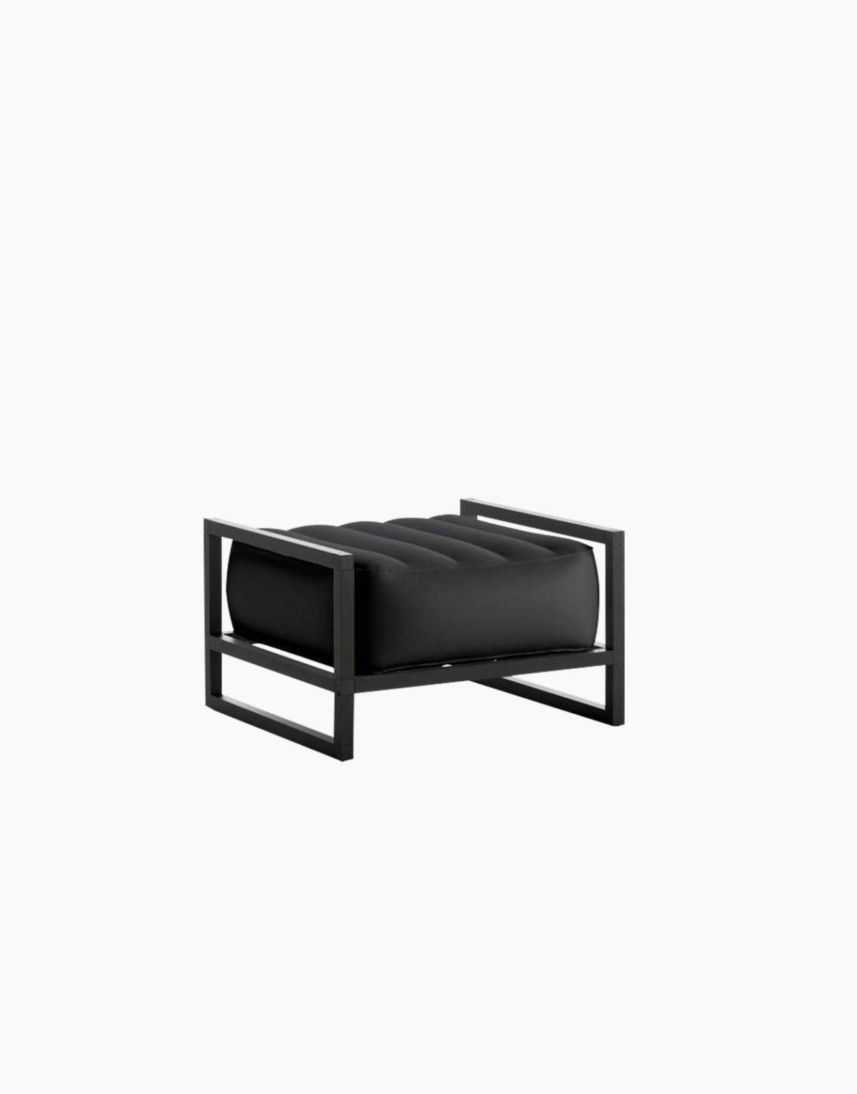 Revendeur de Mojow solution design fr mobilier assises fauteuil Yoko noir opaque
