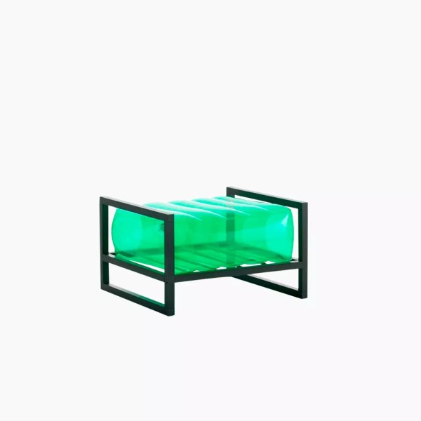 Revendeur de Mojow solution design fr mobilier assises fauteuil Yoko vert cristal