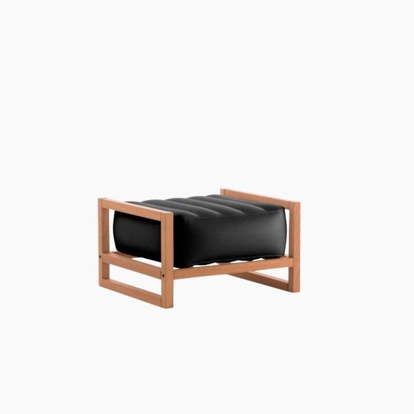 Revendeur de Mojow solution design fr mobilier assises fauteuil Yoko wood noir opaque