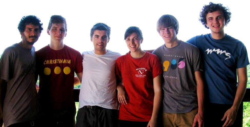 Timothy, Tyler, Lance, Melissa, Connor and Aaron at the Omaha gathering