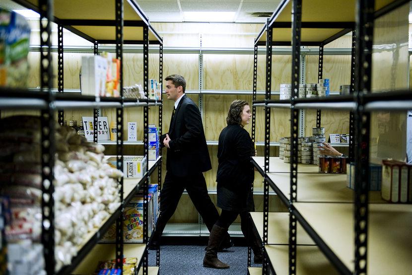 Student food pantry best practices - eliminating stigma