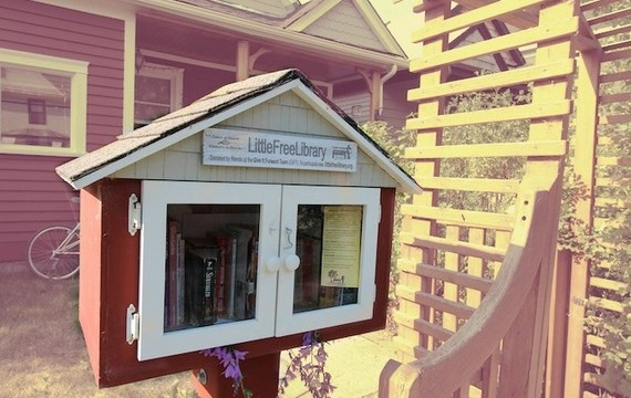 protect Little Free Libraries