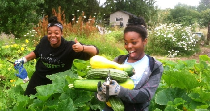 Youth gardening program teaches life skills to homeless teens