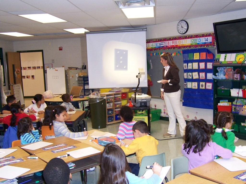 math teacher bypasses arithmetic altogether