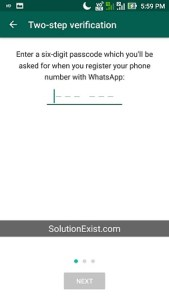 enable two-step verification on Whatsapp,enable two-step verification on Whatsapp android phone,enable two-step verification on Whatsapp iphone