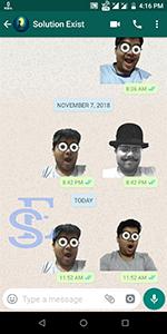 create own WhatsApp stickers, Whatsapp stickers. send custom stickers on Whatsapp, how to create whatsapp stickers and send, download stickers on whatsapp,Create stickers for WhatsApp