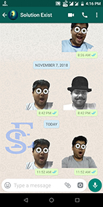 create own WhatsApp stickers, Whatsapp stickers. send custom stickers on Whatsapp, how to create whatsapp stickers and send, download stickers on whatsapp,Create stickers for WhatsApp
