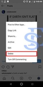 Delete Multiple Photos In Instagram
