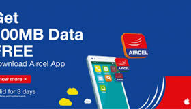 Aircel free Data offer 2018 – Offering Get Free 5GB 3G / 4G  data & unlimited calling