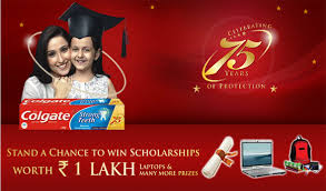 Colgate Scholarship offer 2018 – Win scholarship worth 1 Lakh ( Colgate Scholarship winner list )