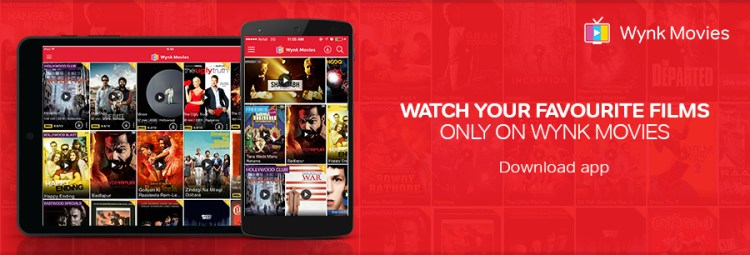 Wynk Movies App Download Or clickmov wynk air live tv