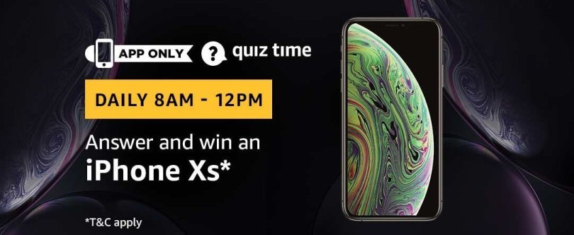 Amazon Quiz 7 April 2019 Answers