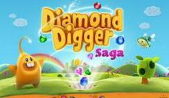 solution diamond digger saga niveau 89