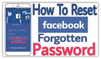 Facebook Password Reset – How to Reset Your lost Facebook Password
