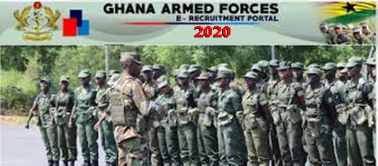 Ghana Armed Forces Recruitment 2020
