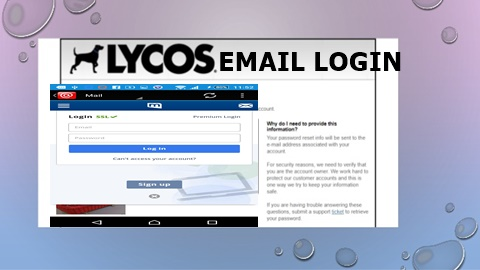Lycos Email Login | Lycos Mail Sign Up – www.mail.lycos.com Sign in