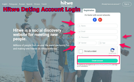 Hitwe Dating Account Login   Download Hitwe App For Android & IOS