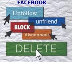 Blocking and Unfriending Facebook Friend Not The Same