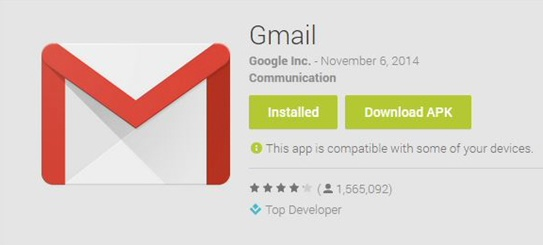 Gmail App Download for Android APK