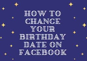 How to Change My Age On Facebook