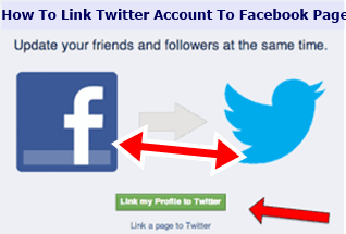 How To Link Twitter Account To Facebook Page – Link Twitter and Facebook / Link Facebook To Twitter