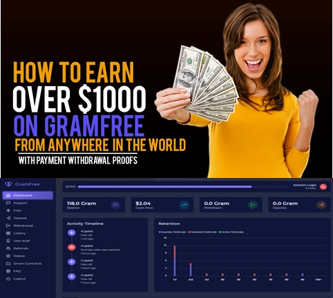 How to Earn Money With Gramfree