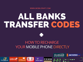 Bank Transfer Codes – Transfer Codes For All Banks | Recharge Codes for All Banks