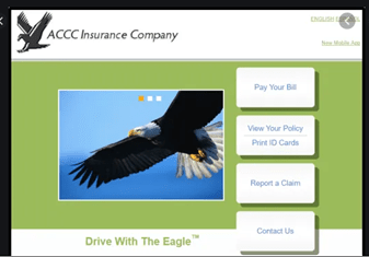 Drive with the Eagle Login – ACCC Auto Insurance Payment