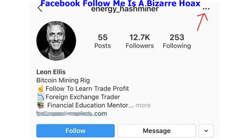 Facebook Follow Me Is A Bizarre Hoax – Facebook Follow Me / Facebook Follow Me Hoax