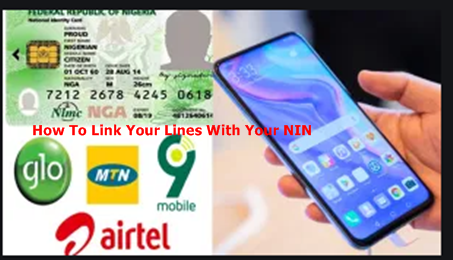 How to Link Your Phone Numbers With National Identity Number On Your Phone | Link NIN With Your Lines to Avoid Blocking