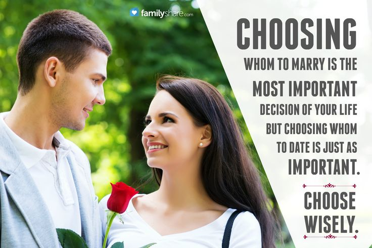 How To Choose The Best Man For Marriage