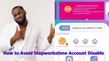 Stepworkstime Account Management : How to Avoid Stepworkstime Account Disable