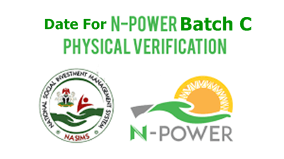 Npower Physical Verification Commence Date – Date For Npower Batch C Physical Verification