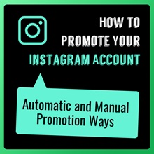How To Promote My Instagram Account