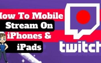 How to Stream on Twitch App