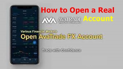 AvaTrade Investment – Online Forex Trading   CFD Broker   How to Open a Real AvaTrade Account