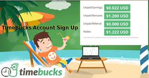 TimeBucks Account Sign Up – Ways To Make Money Online With TimeBucks