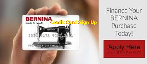 Bernina Credit Card Sign Up