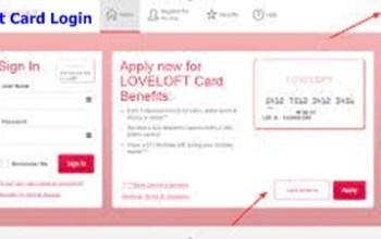Loft Credit Card Login
