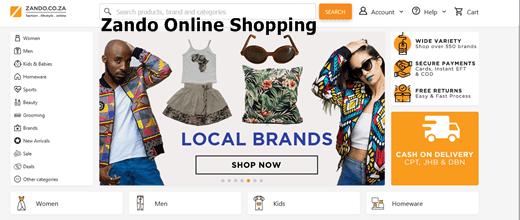 Zando Account Sign Up For Free   Zando Online Shopping Site – Www Zando Co Za