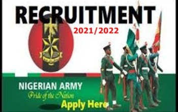 How to Apply For Nigerian Army Recruitment 2021