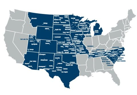 Border States Branches