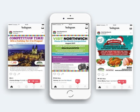 Social Media Competitions | Northwich Business Improvement District